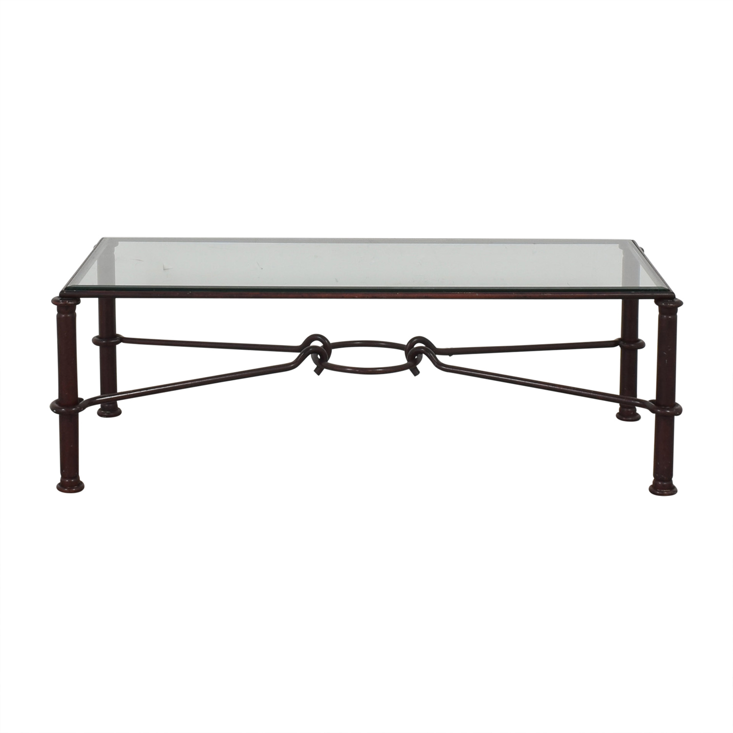 shop West Elm West Elm Glass Top Coffee Table online
