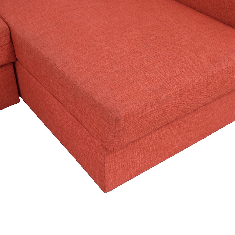shop IKEA Friheten Sleeper Sectional 3 Seat with Storage IKEA Sofas