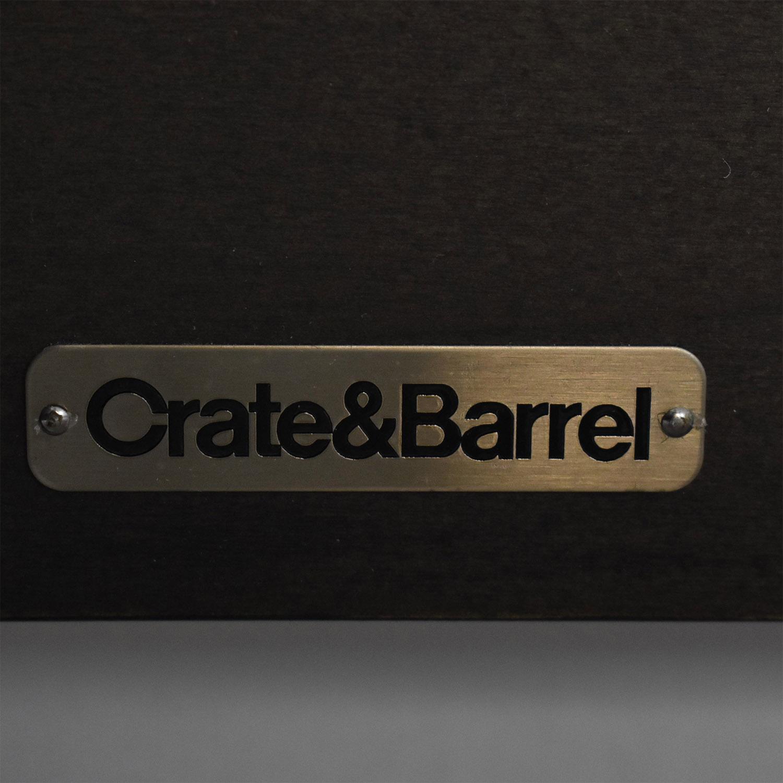 Crate & Barrel Barnes Queen Bed / Beds