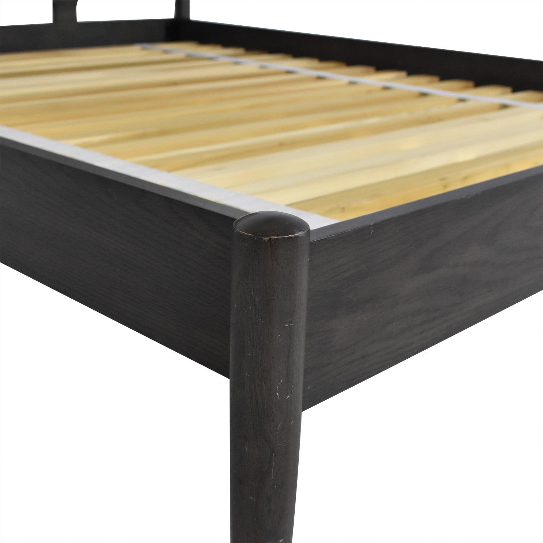 shop Crate & Barrel Barnes Queen Bed Crate & Barrel Bed Frames