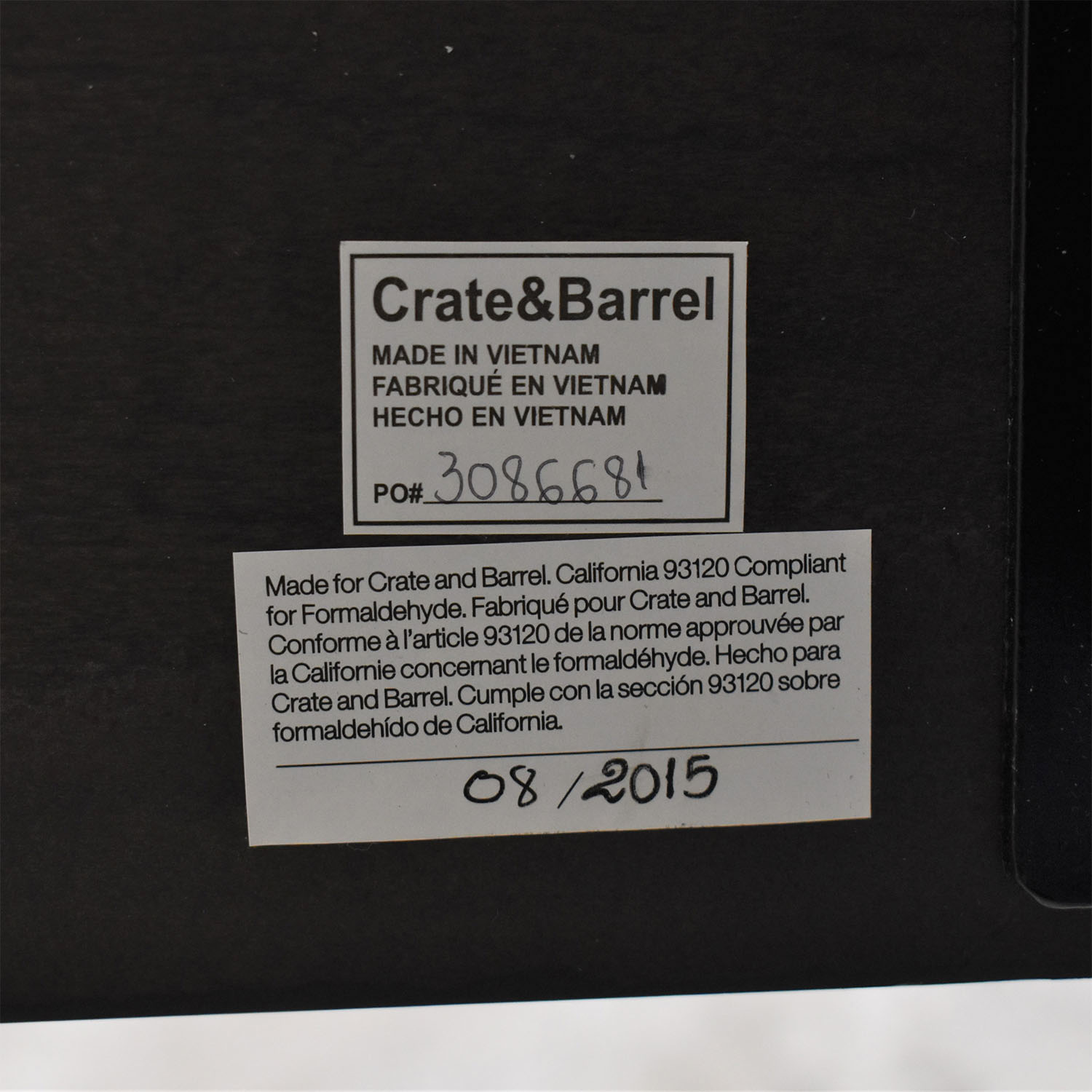 buy Crate & Barrel Barnes Queen Bed Crate & Barrel Bed Frames
