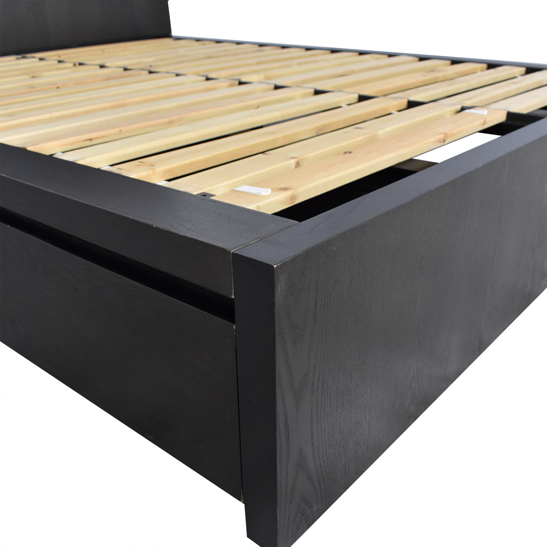 West Elm West Elm Queen Storage Bed Frame for sale