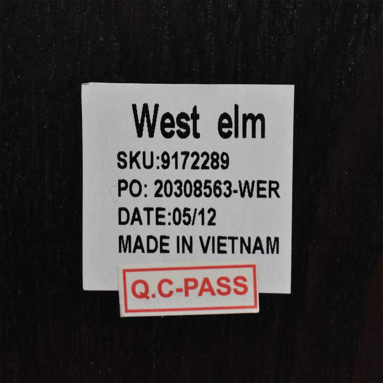 shop West Elm Queen Storage Bed Frame West Elm
