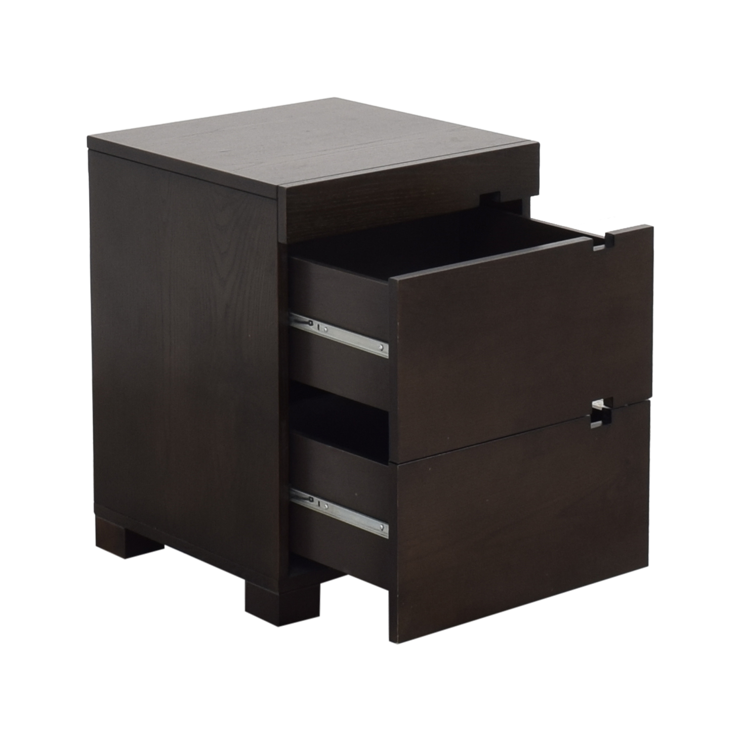 buy West Elm Square Cutout Nightstand West Elm End Tables