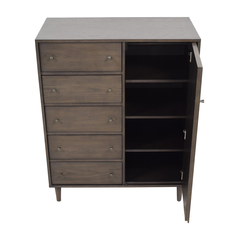 shop Crate & Barrel Barnes Wardrobe Crate & Barrel Wardrobes & Armoires