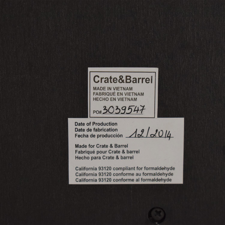Crate & Barrel Crate & Barrel Barnes Wardrobe dimensions
