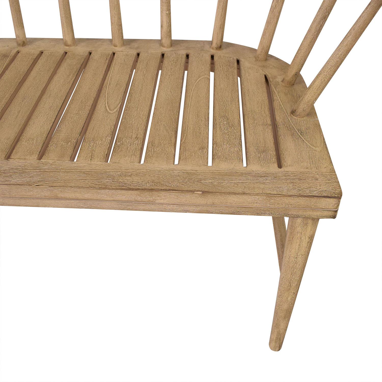 West Elm West Elm Dexter Bench Chairs