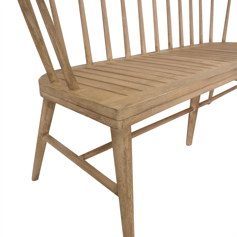 West Elm Dexter Bench / Chairs