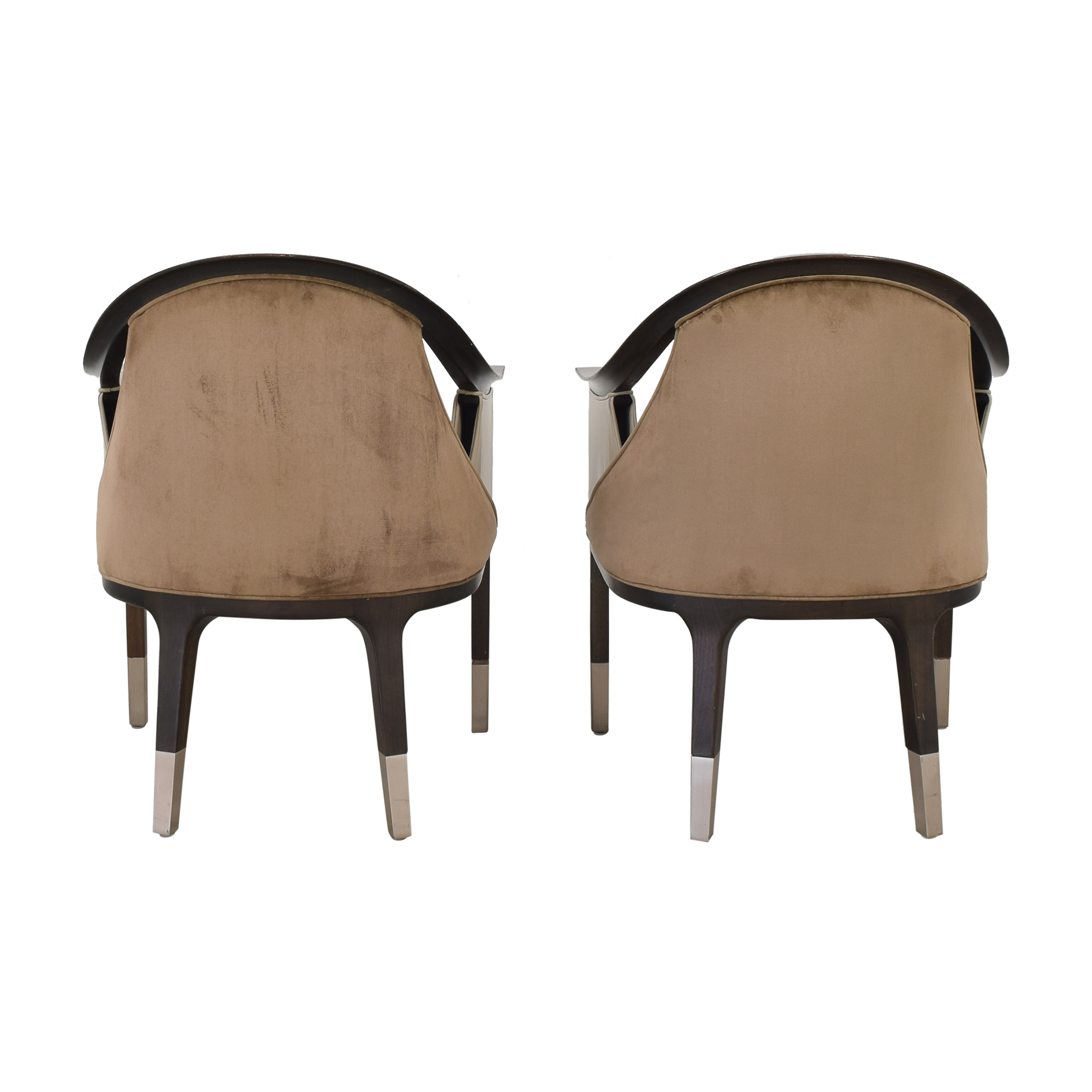 Allied Form Works Allied Works Eleven Madison Park Dining Room Chairs beige and dark brown