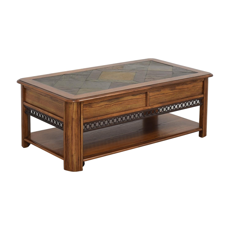 Raymour & Flanigan Raymour & Flanigan Lift Top Coffee Table ct