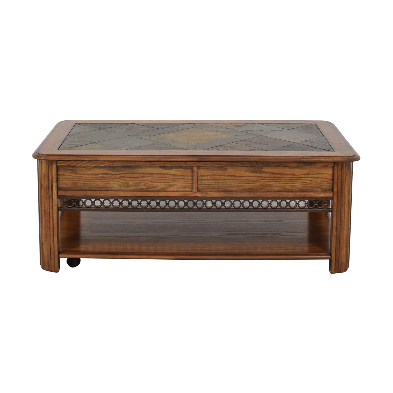 Raymour & Flanigan Raymour & Flanigan Lift Top Coffee Table Coffee Tables
