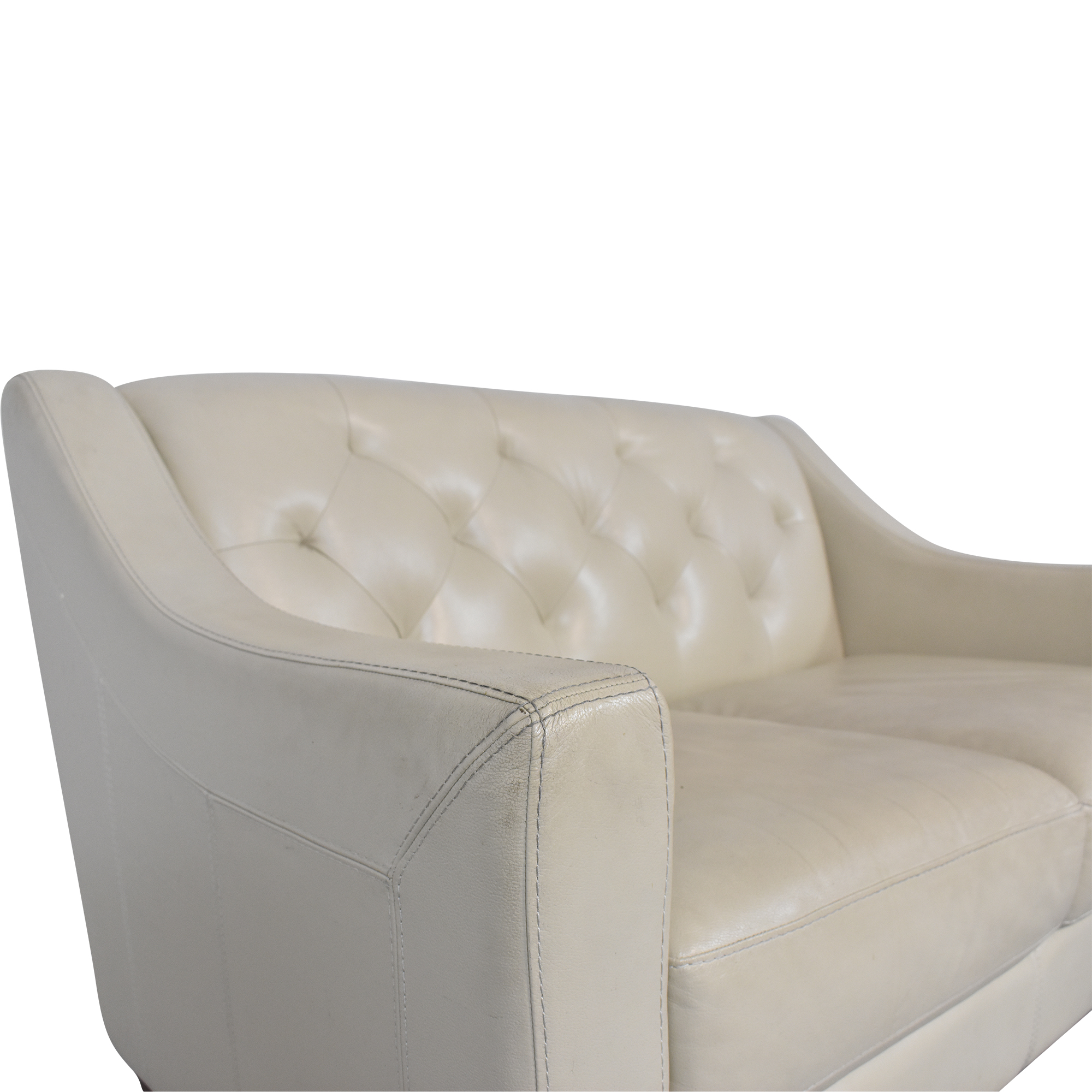 Chateau d'Ax Chateau d'Ax Slope Arm Tufted Loveseat on sale