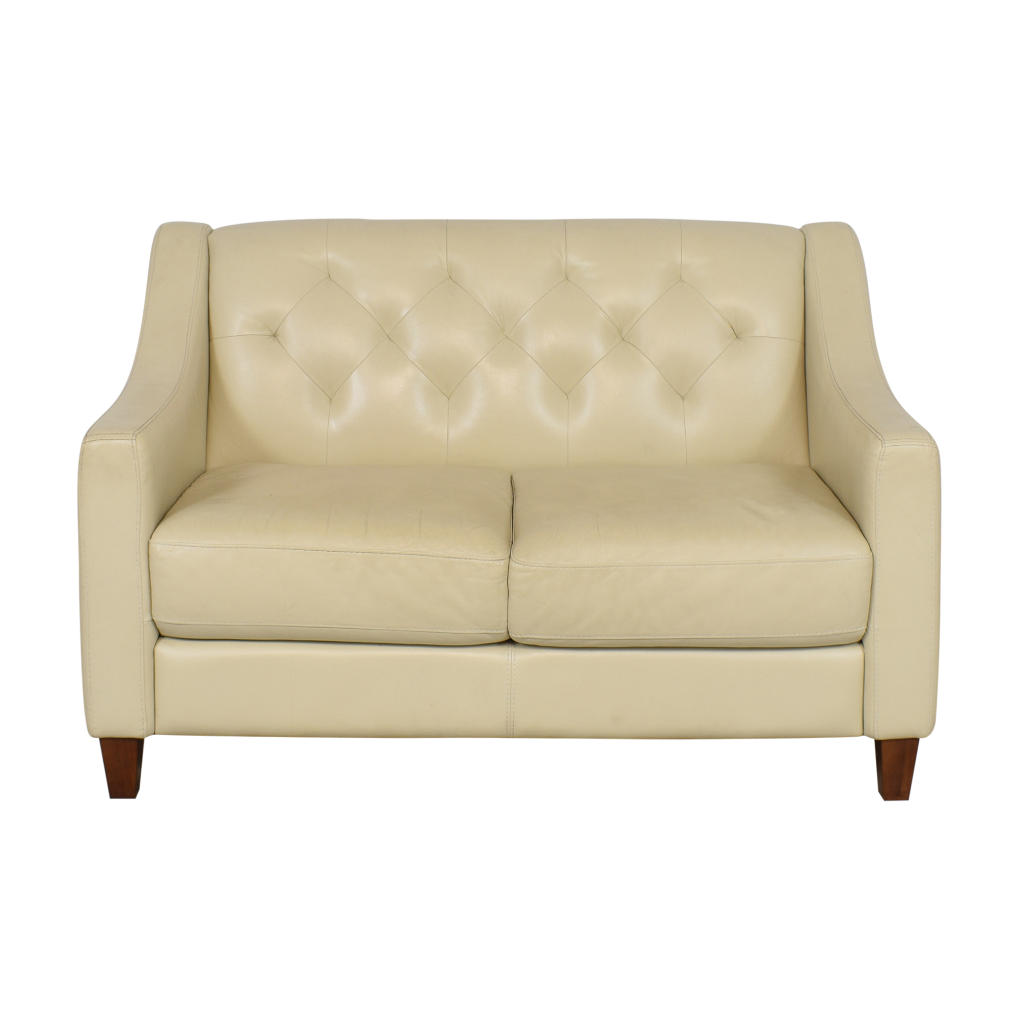 buy Chateau d'Ax Slope Arm Tufted Loveseat Chateau d'Ax Sofas