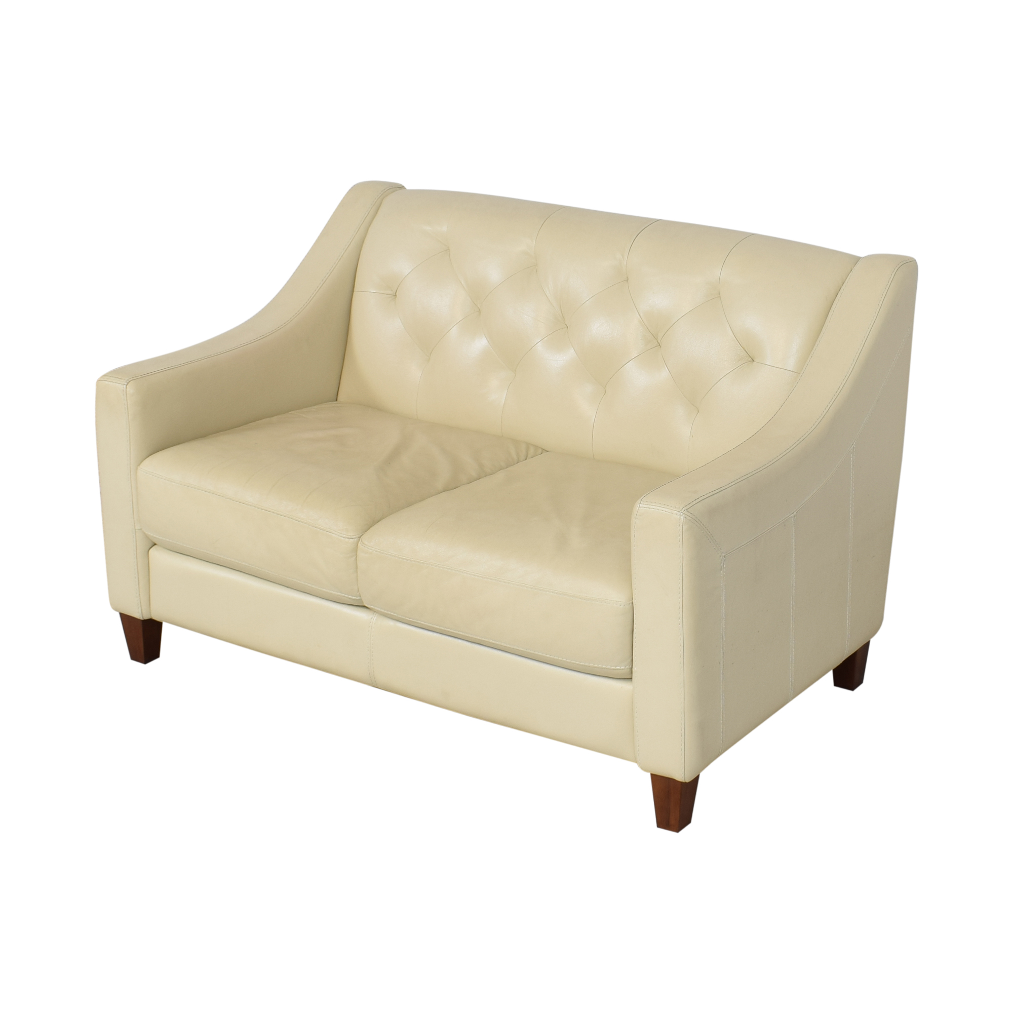 Chateau d'Ax Chateau d'Ax Slope Arm Tufted Loveseat discount