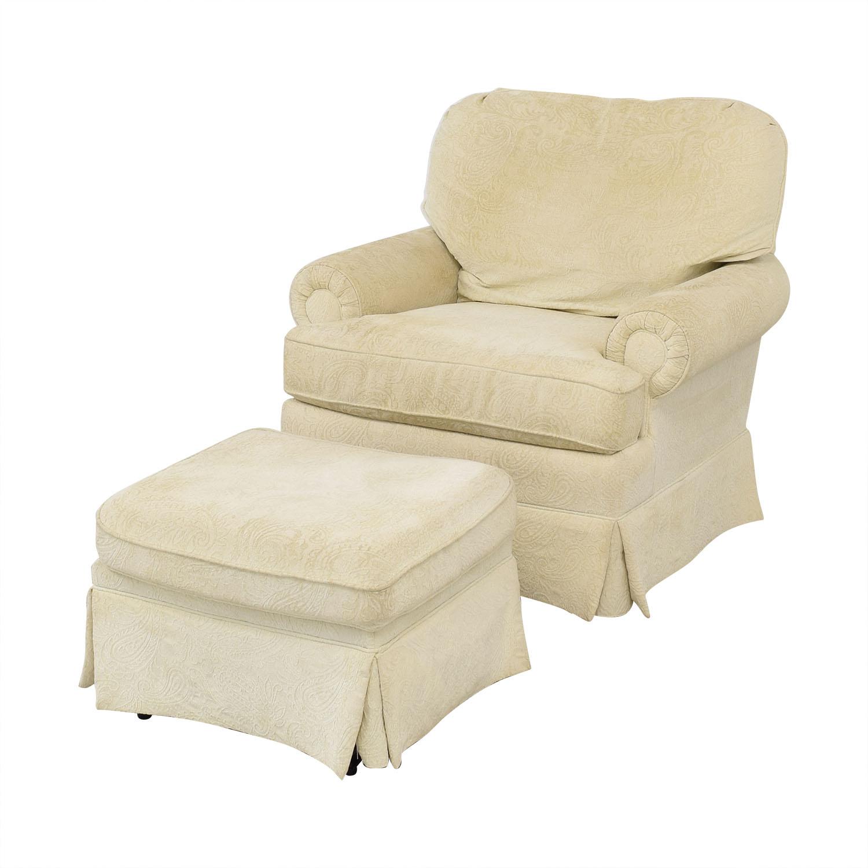 Best Chairs Braxton Swivel Glider and Ottoman sale