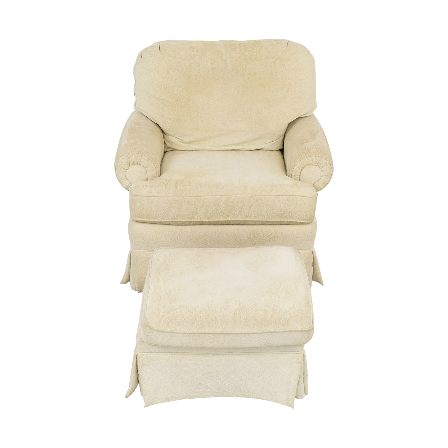 Best Chairs Best Chairs Braxton Swivel Glider and Ottoman Accent Chairs