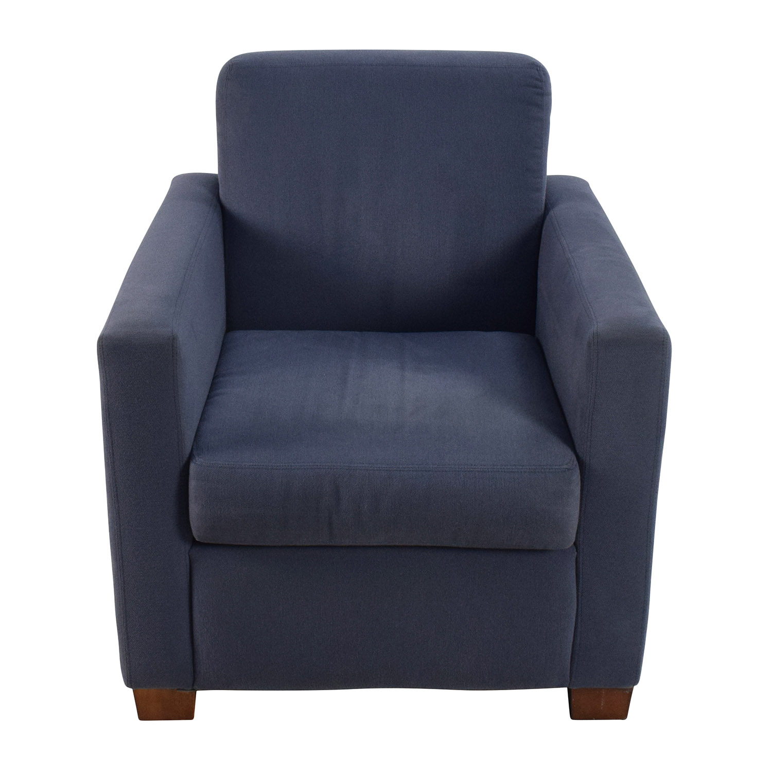 Blue Accent Single Seat Cushion Chair on sale