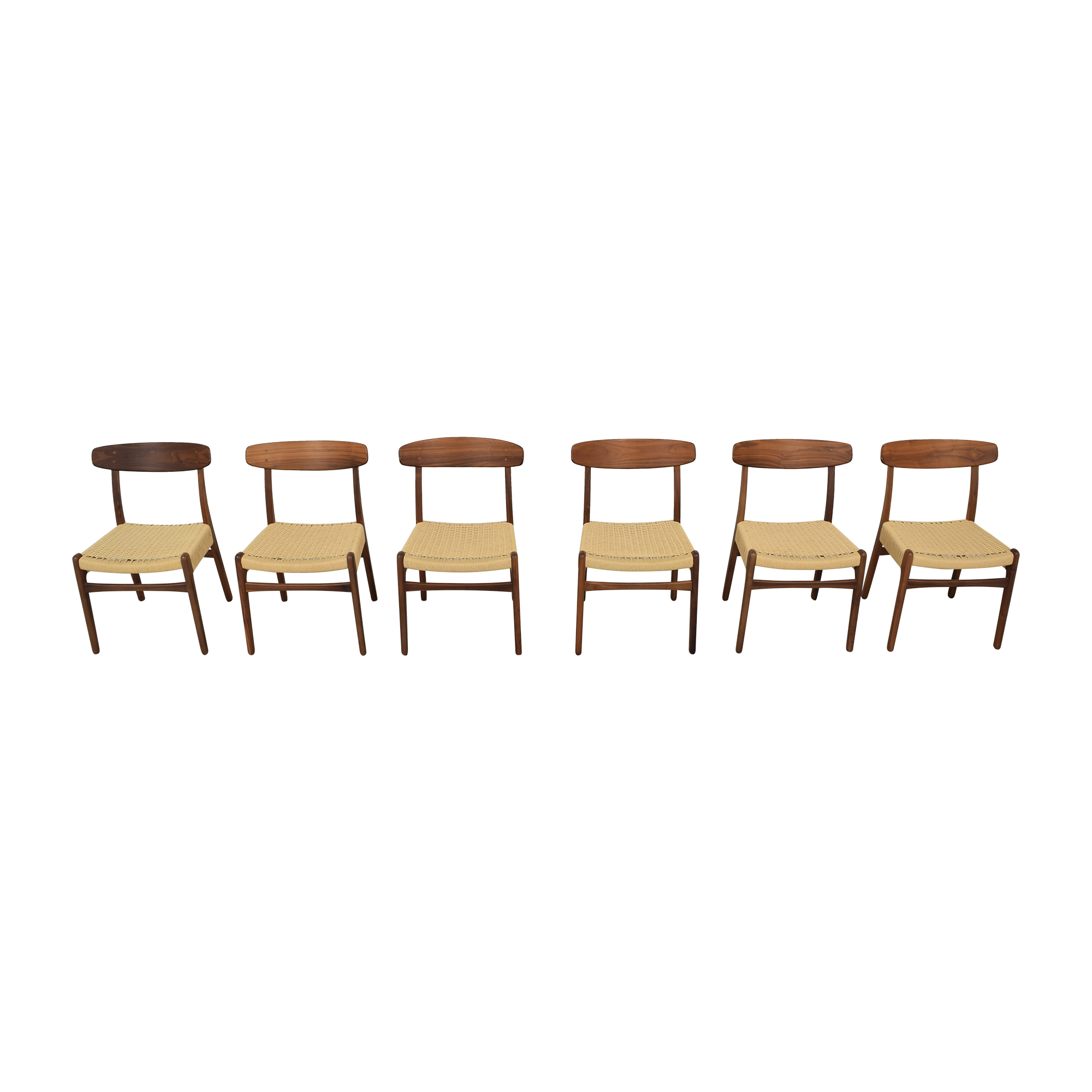 Sit Down New York Hans Wegner-Style Mid Century Dining Chairs Dining Chairs