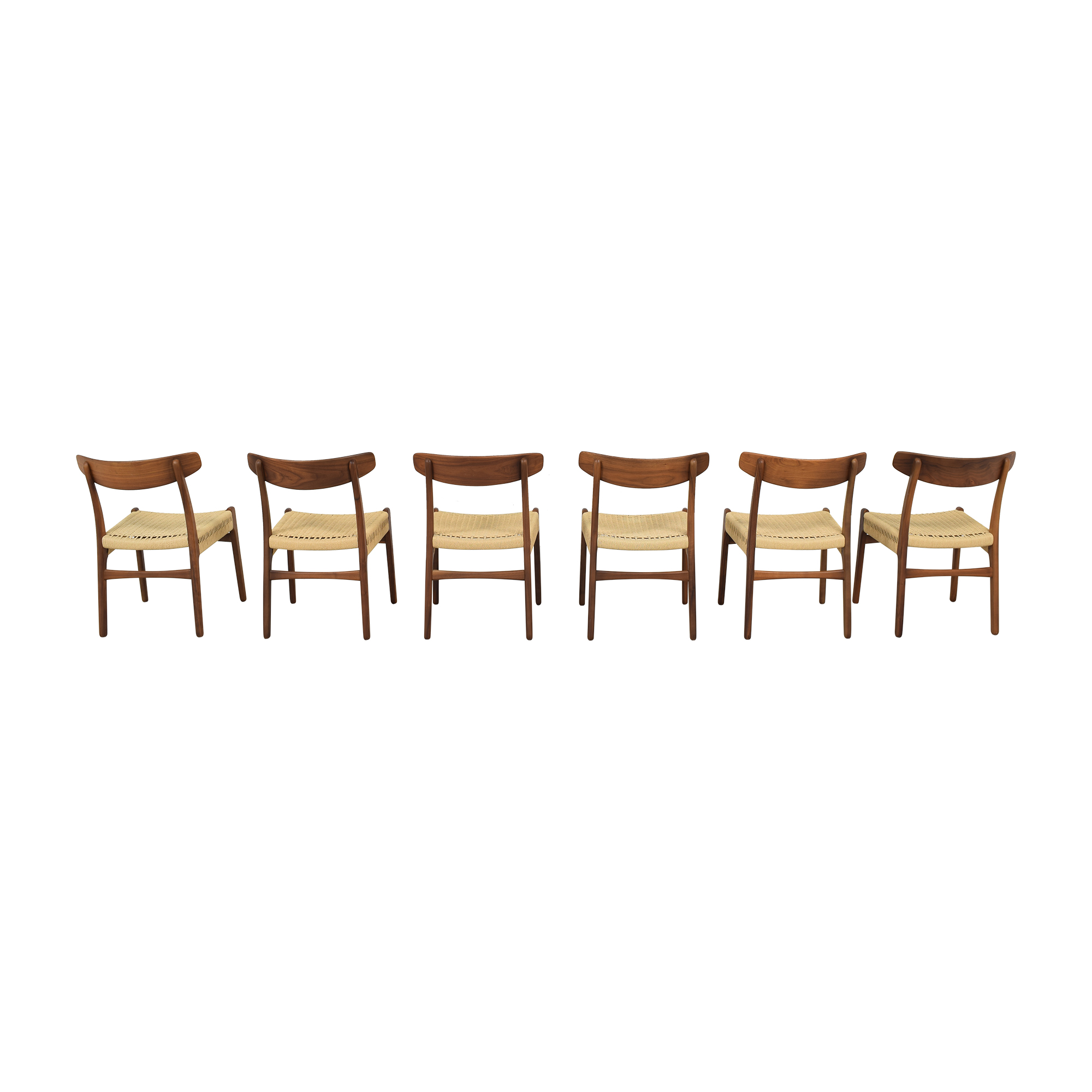 Sit Down New York Hans Wegner-Style Mid Century Dining Chairs Chairs