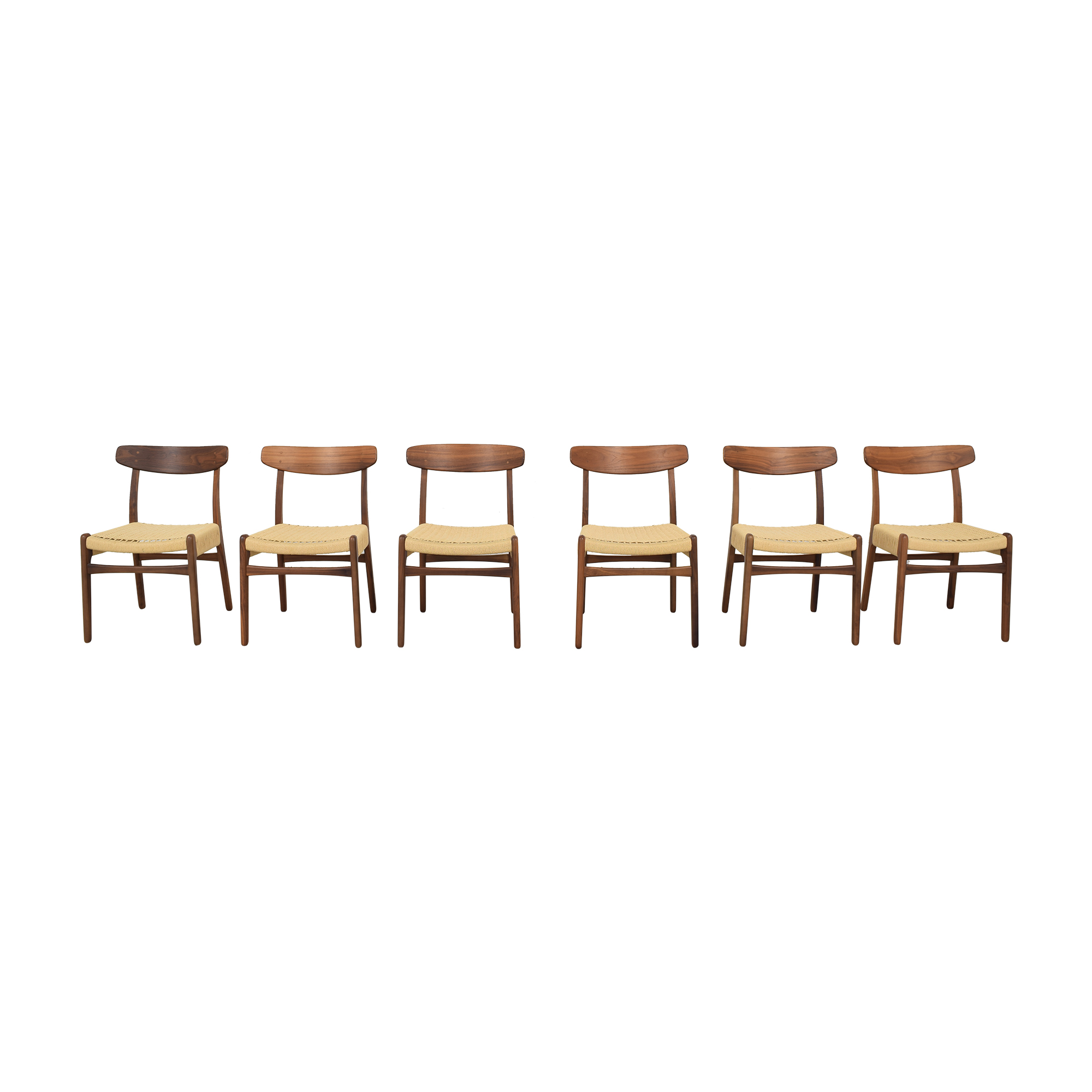 Hans Wegner-Style Mid Century Dining Chairs / Dining Chairs