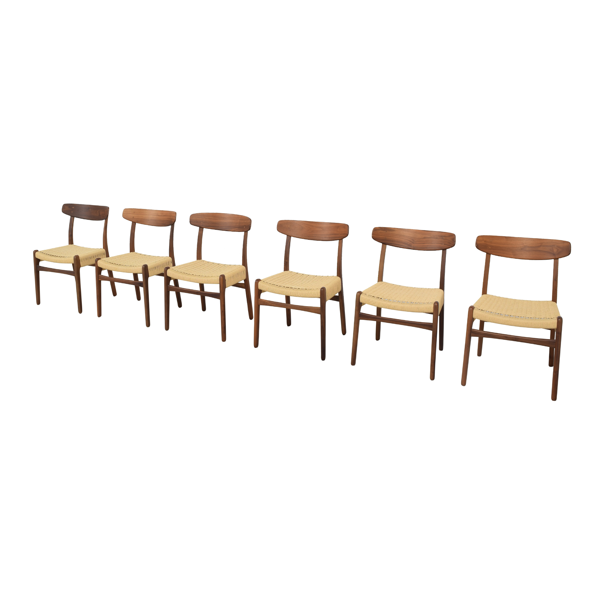 shop Hans Wegner-Style Mid Century Dining Chairs Sit Down New York Dining Chairs