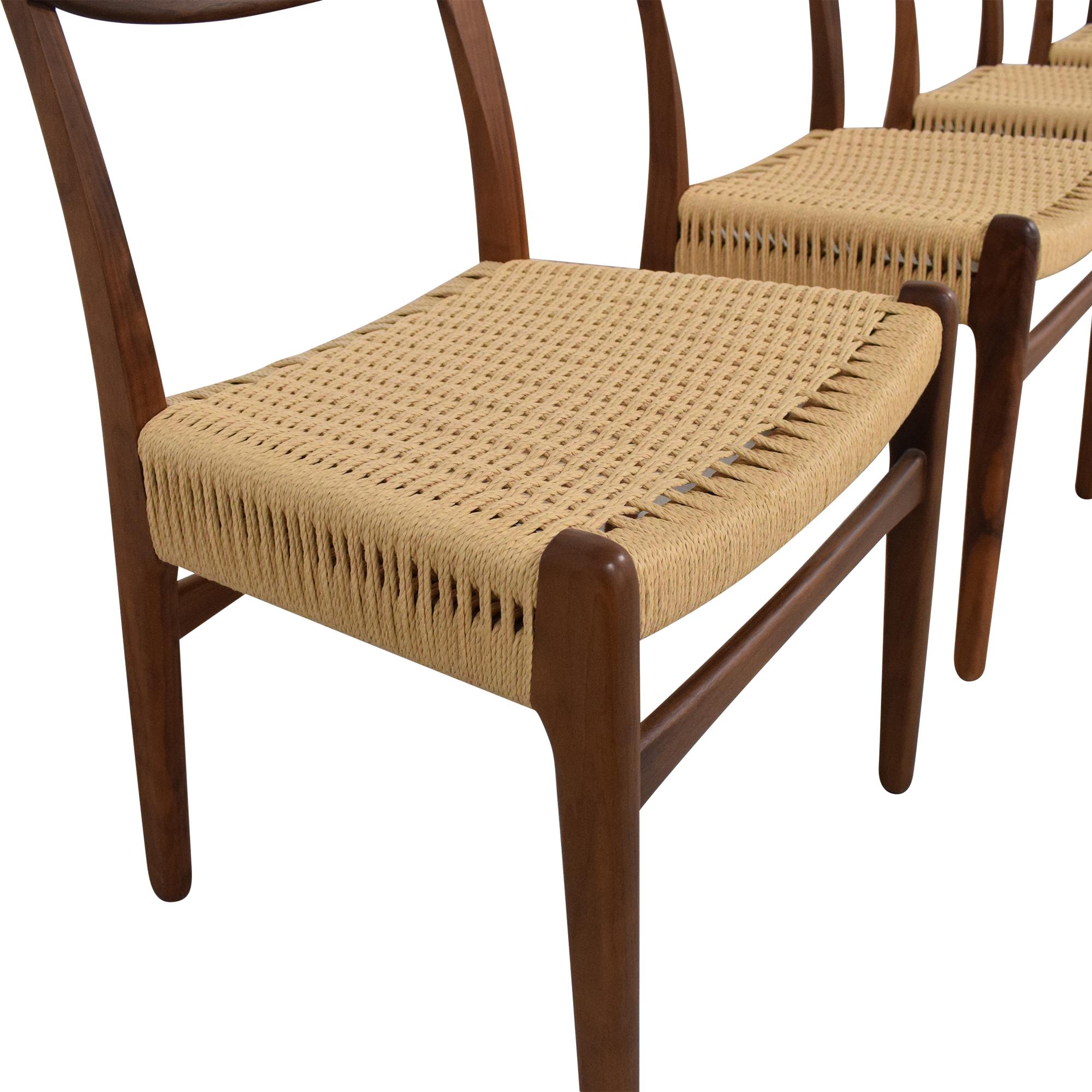 Sit Down New York Hans Wegner-Style Mid Century Dining Chairs price