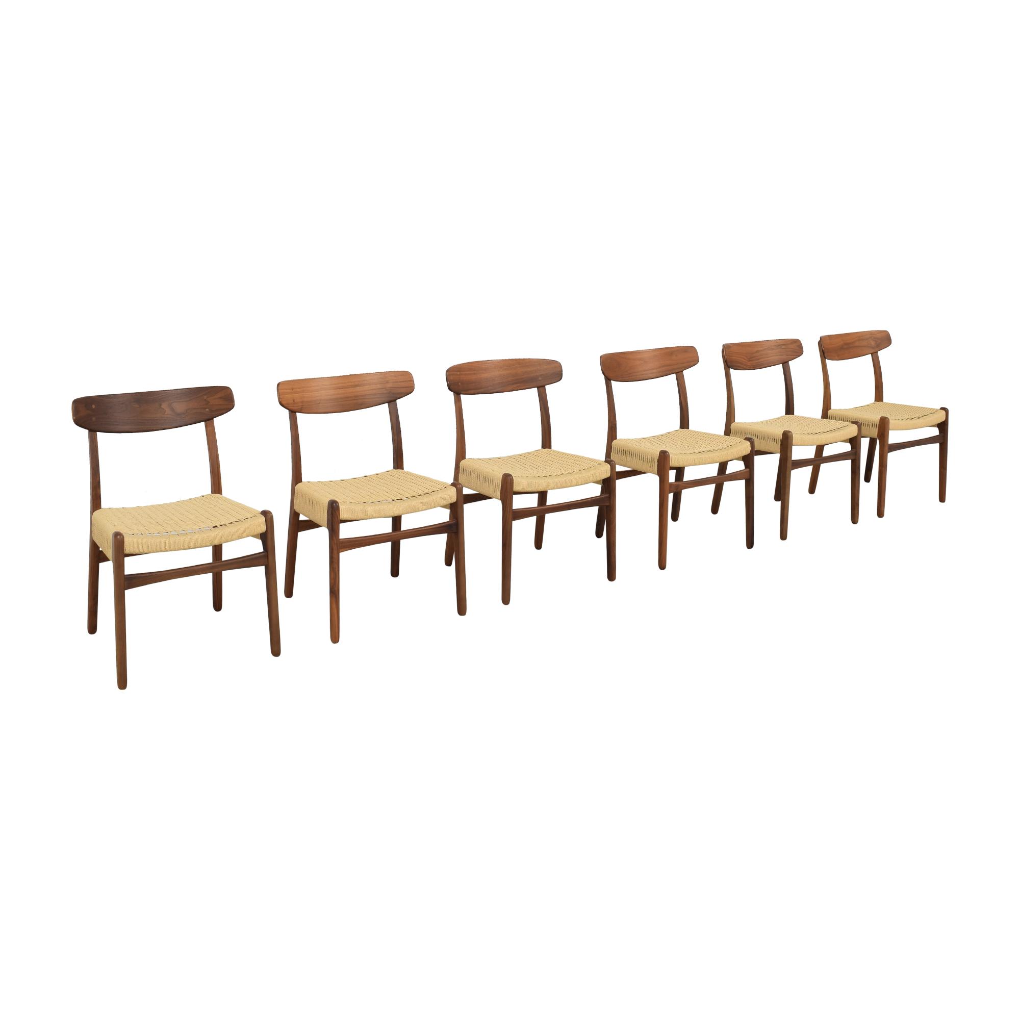 shop Hans Wegner-Style Mid Century Dining Chairs Sit Down New York