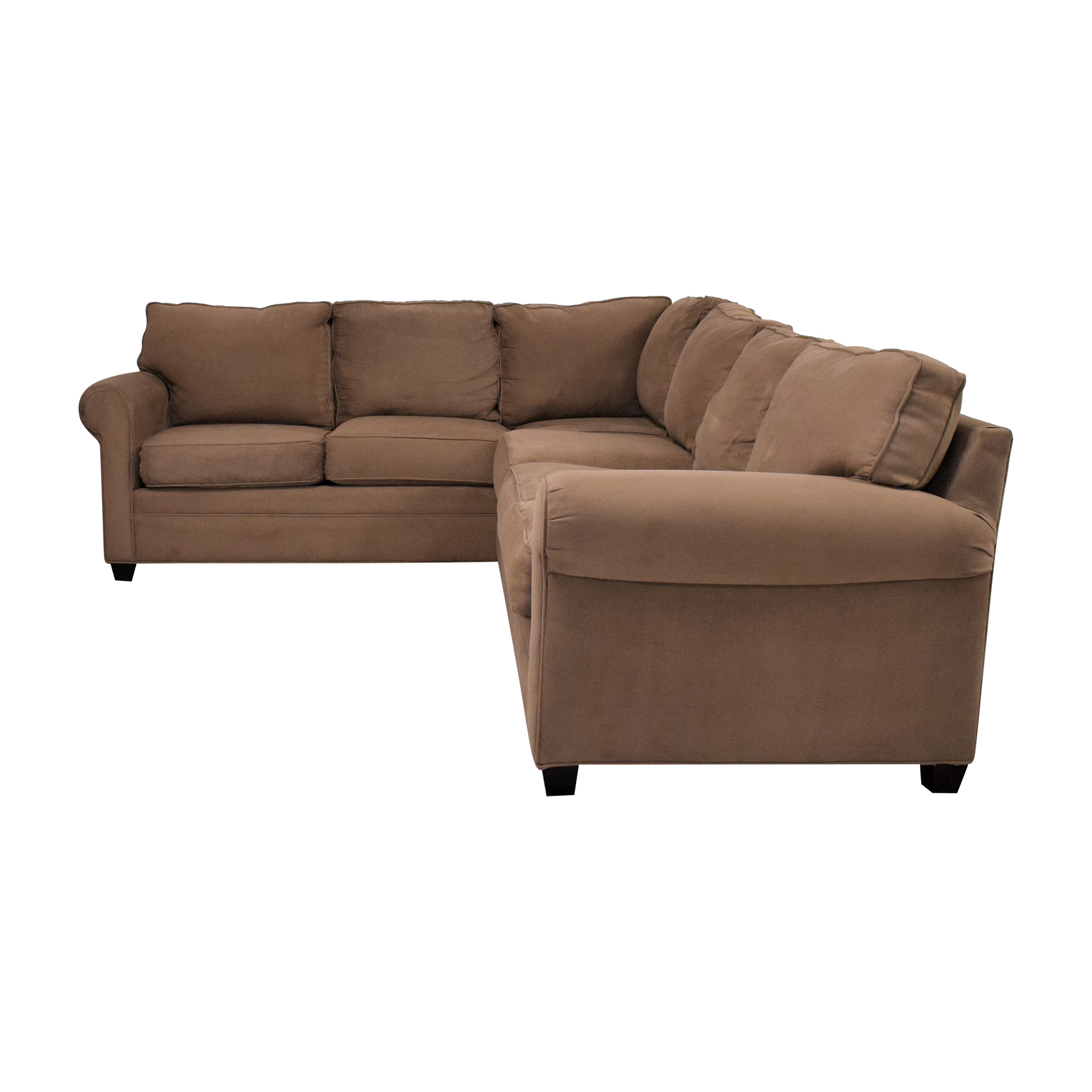 Raymour & Flanigan Raymour & Flanigan Sectional Sofa discount
