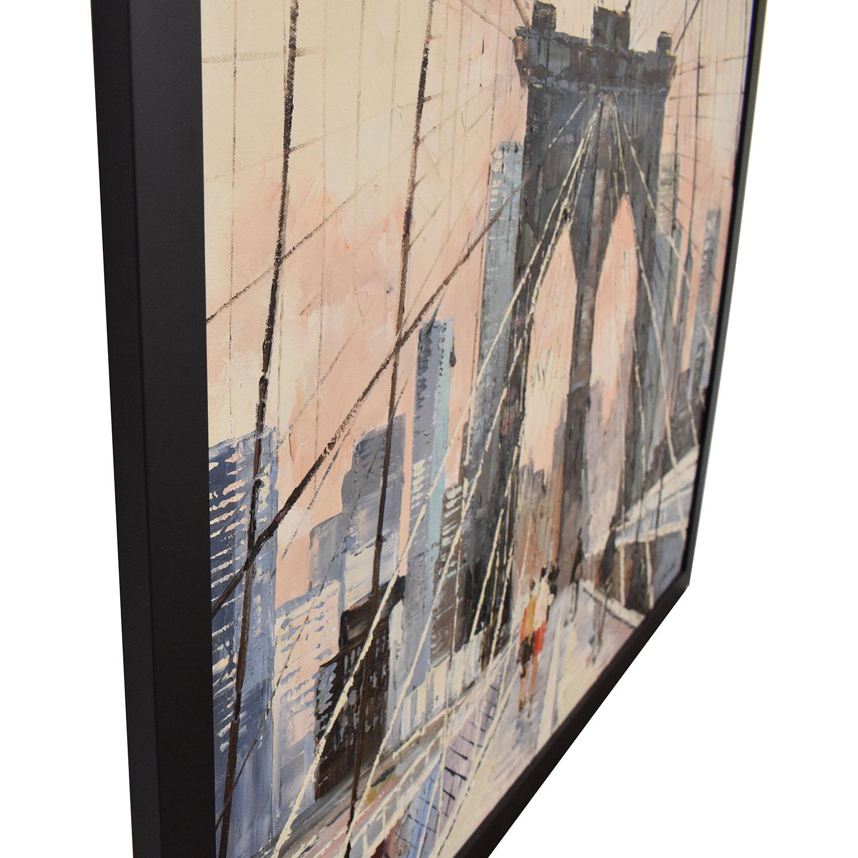 buy Brooklyn Bridge Framed Wall Art  Wall Art