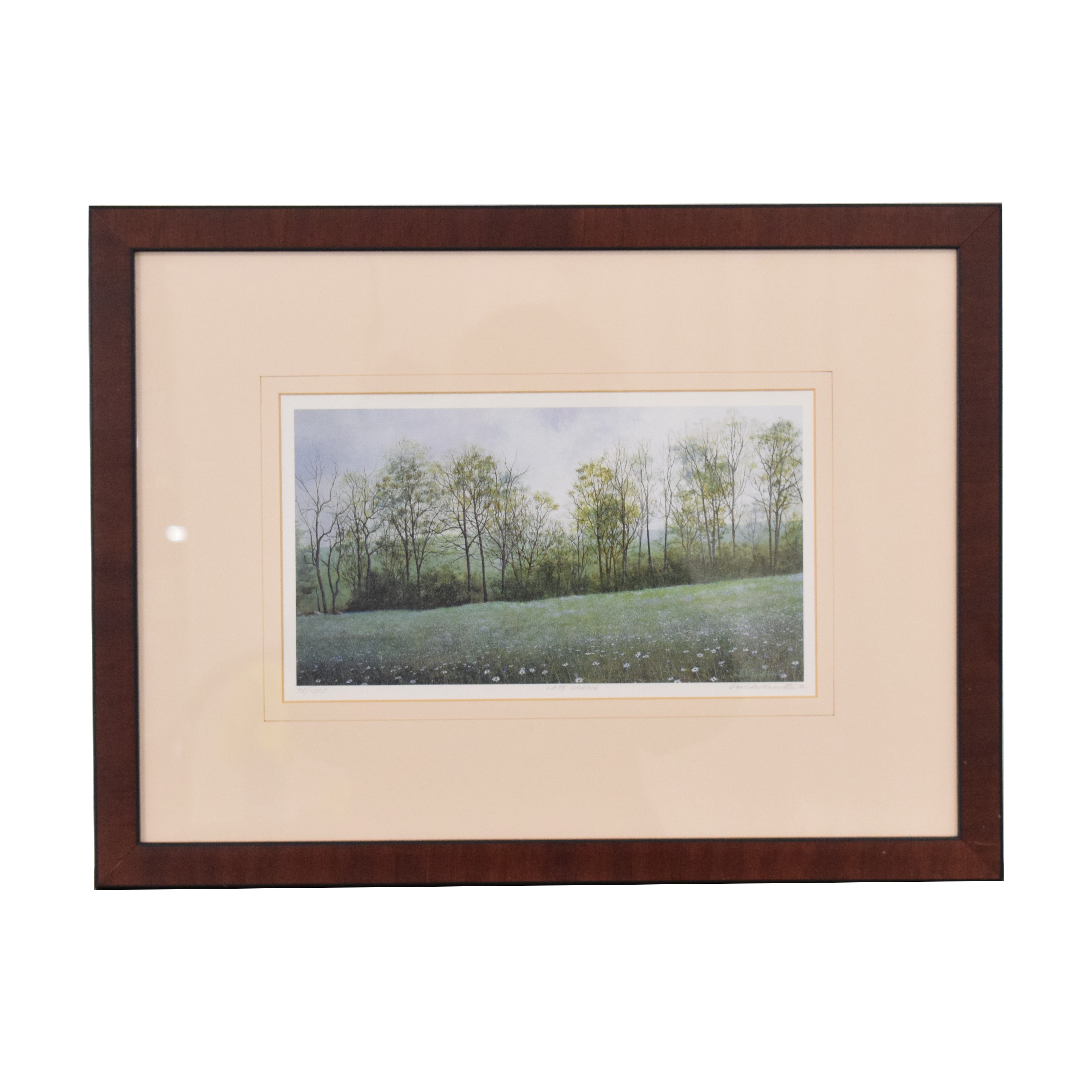 David Knowlton III Early Spring Lithograph discount