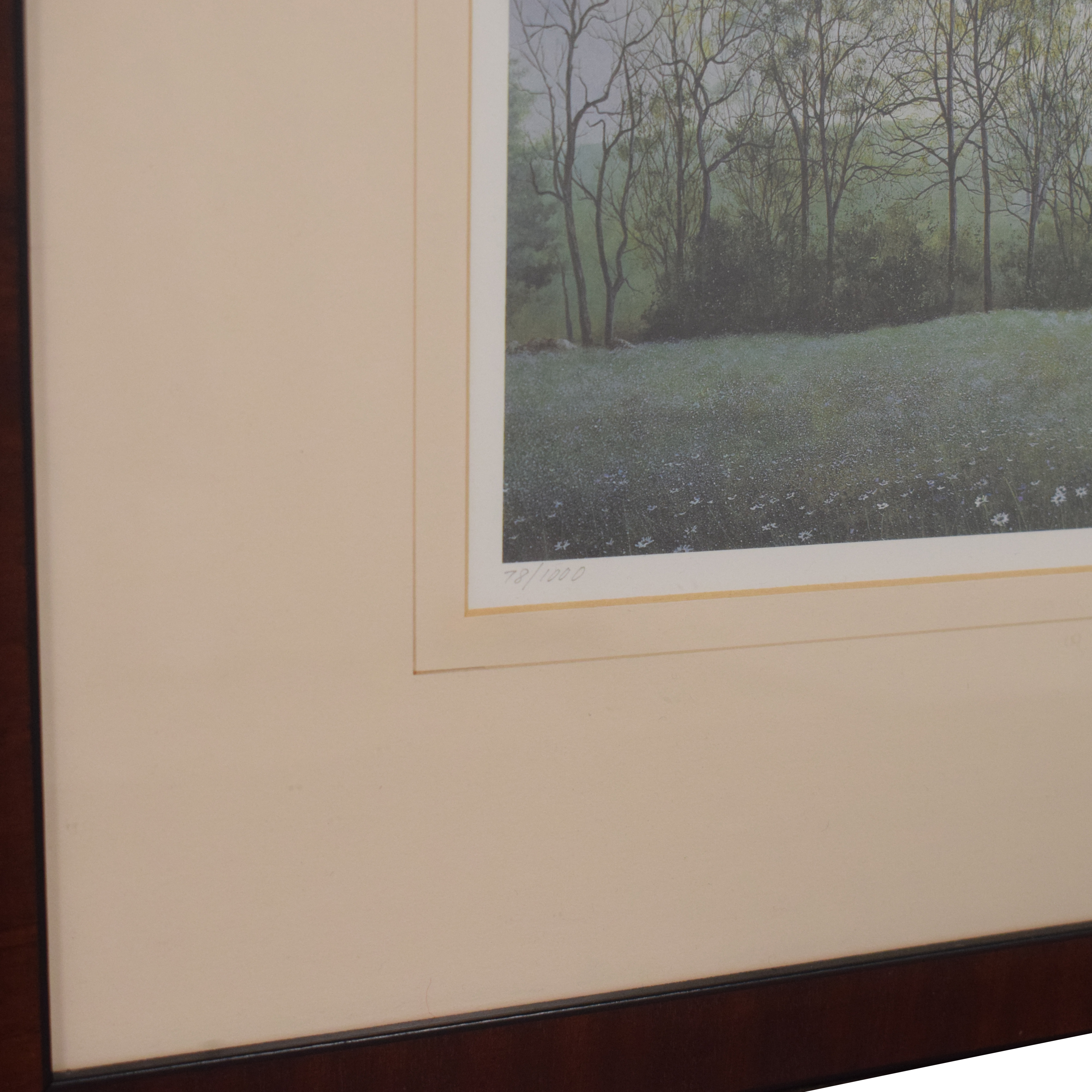David Knowlton III Early Spring Lithograph for sale
