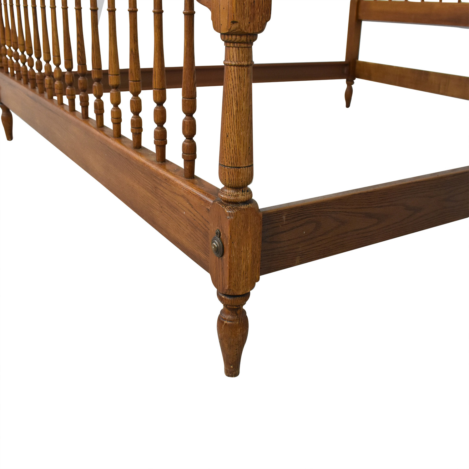 Knob Creek Knob Creek Spindle King Bed Frame nyc
