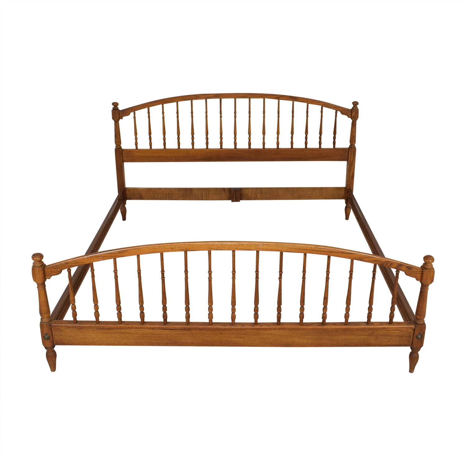 Knob Creek Knob Creek Spindle King Bed Frame