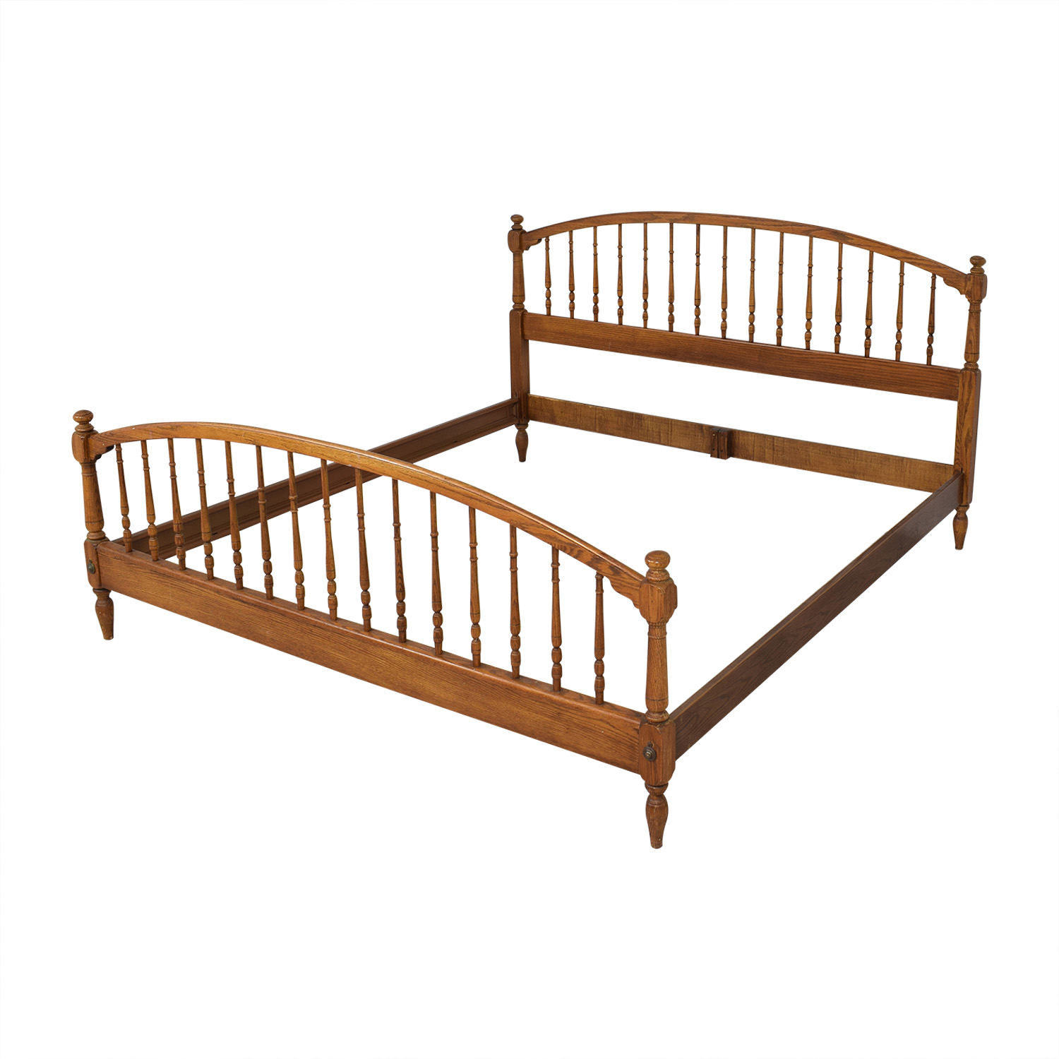 Knob Creek Spindle King Bed Frame / Beds