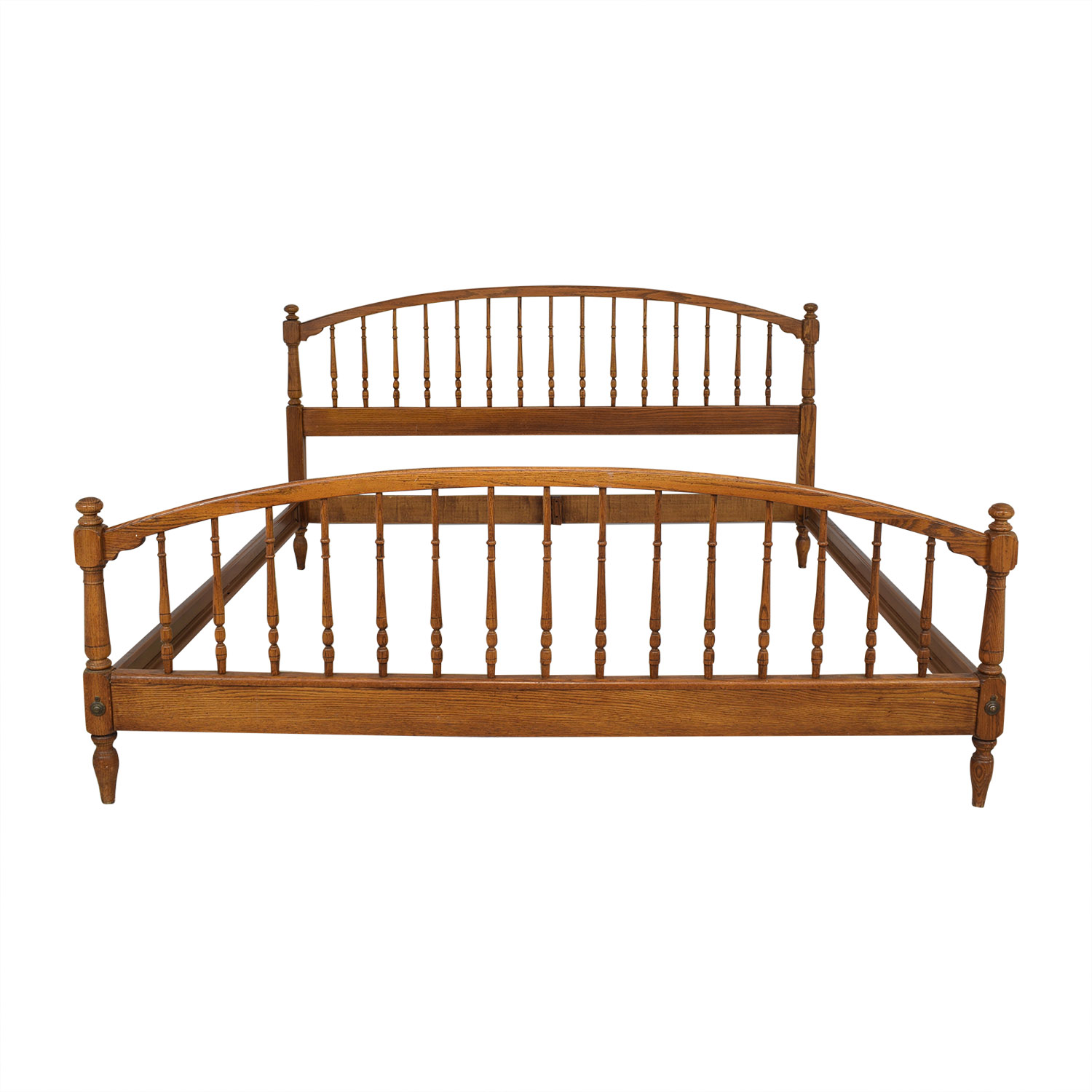 Knob Creek Knob Creek Spindle King Bed Frame discount