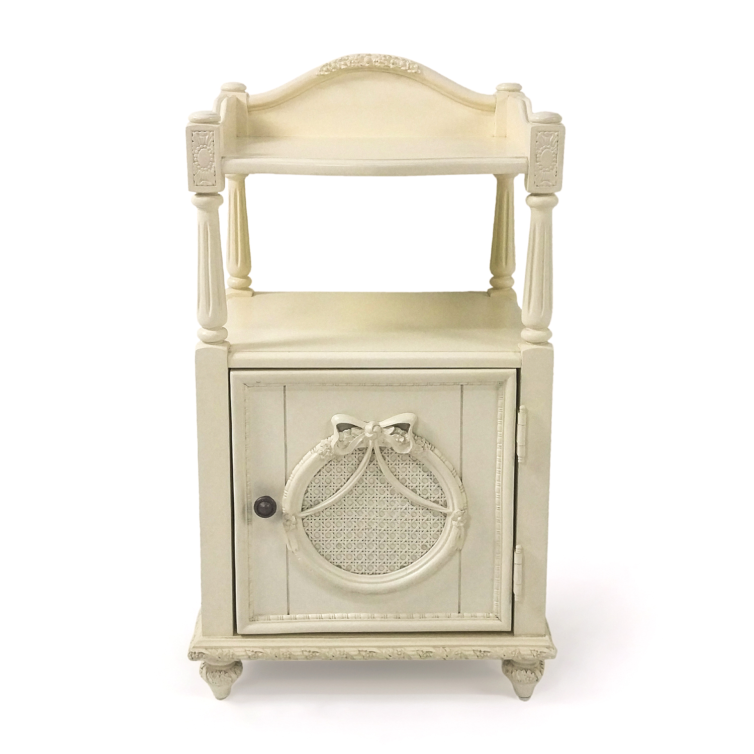 Lea Antique White Nightstand Tables