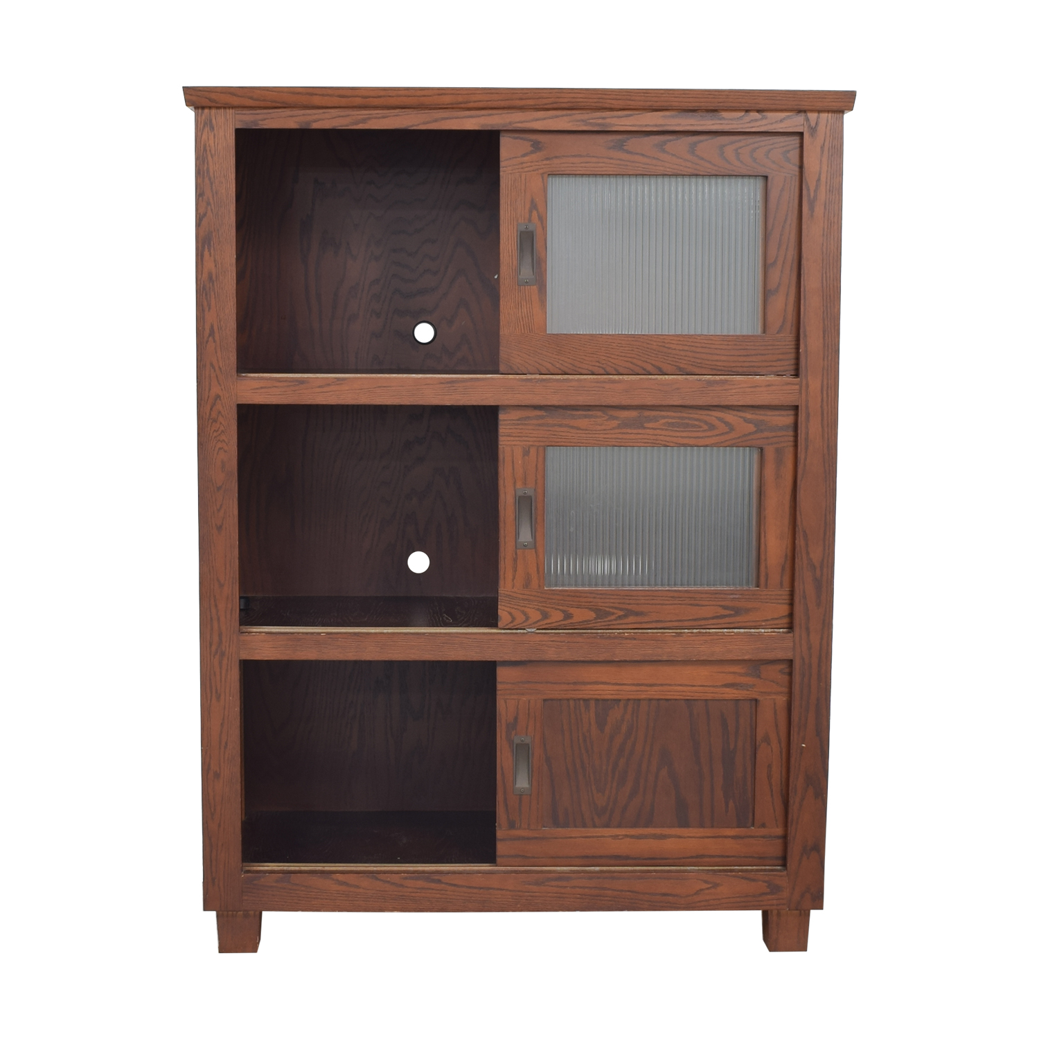 Custom Sliding Door Media Unit / Storage