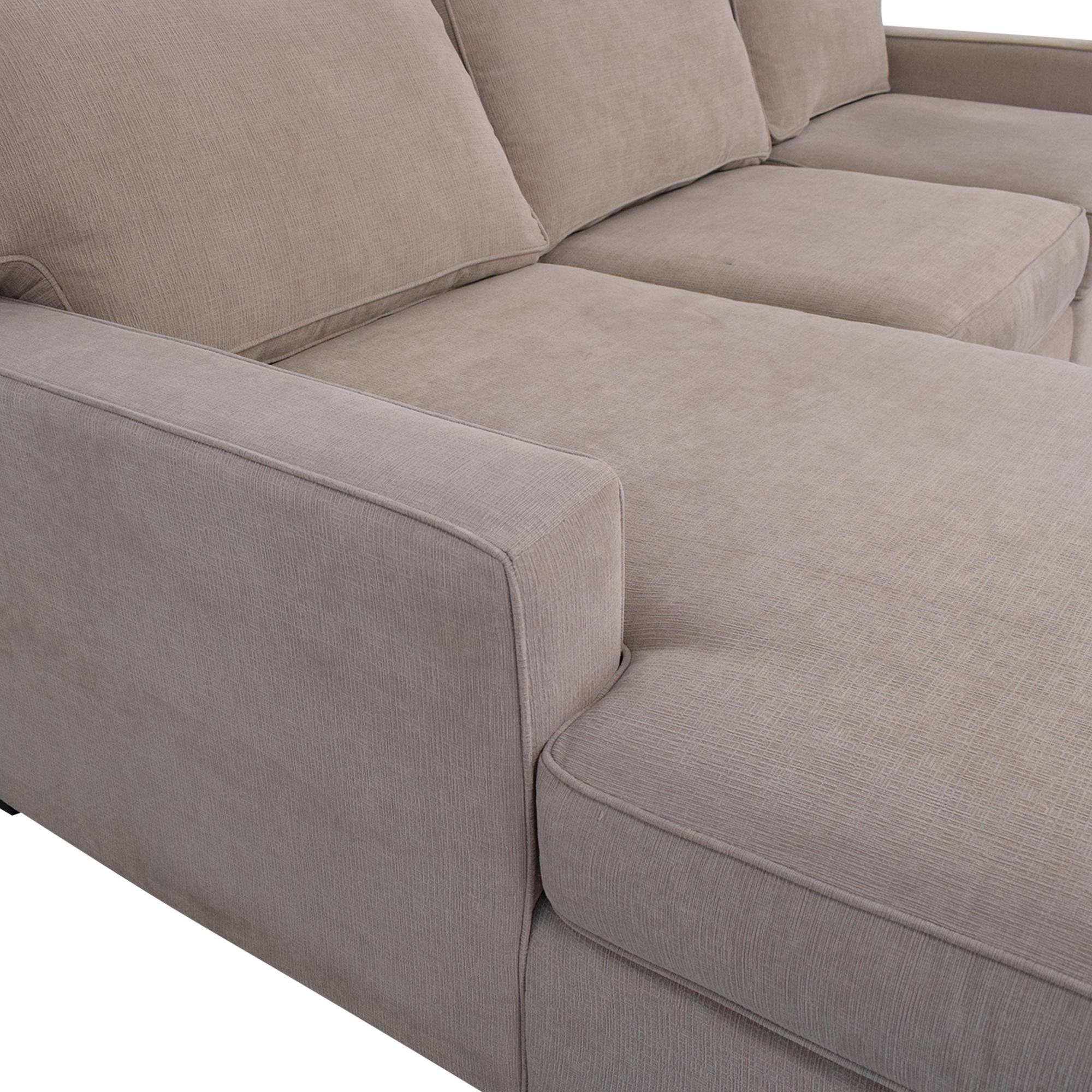 Macy's Macy's Chaise Sectional Sofa price