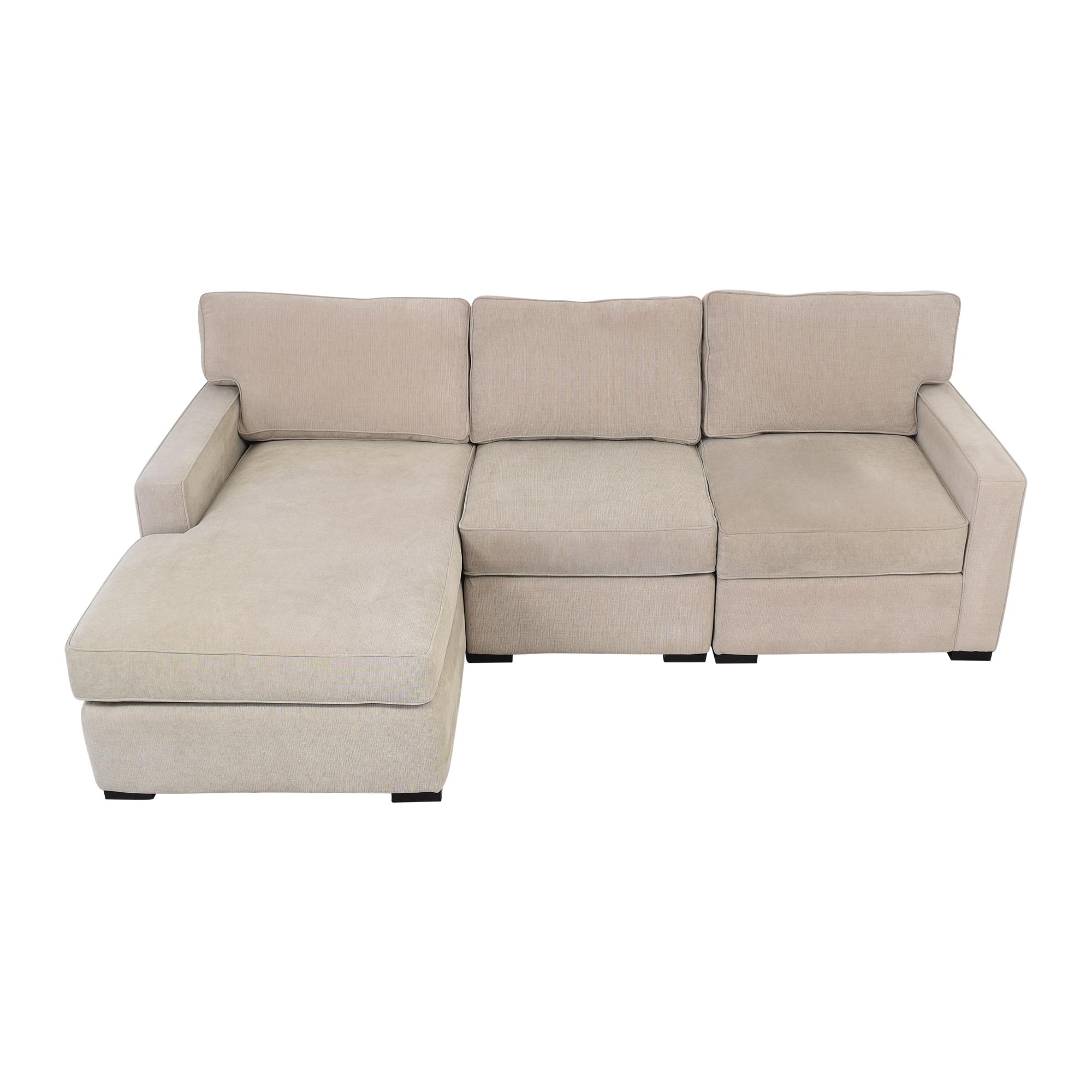 Macy's Macy's Chaise Sectional Sofa ma