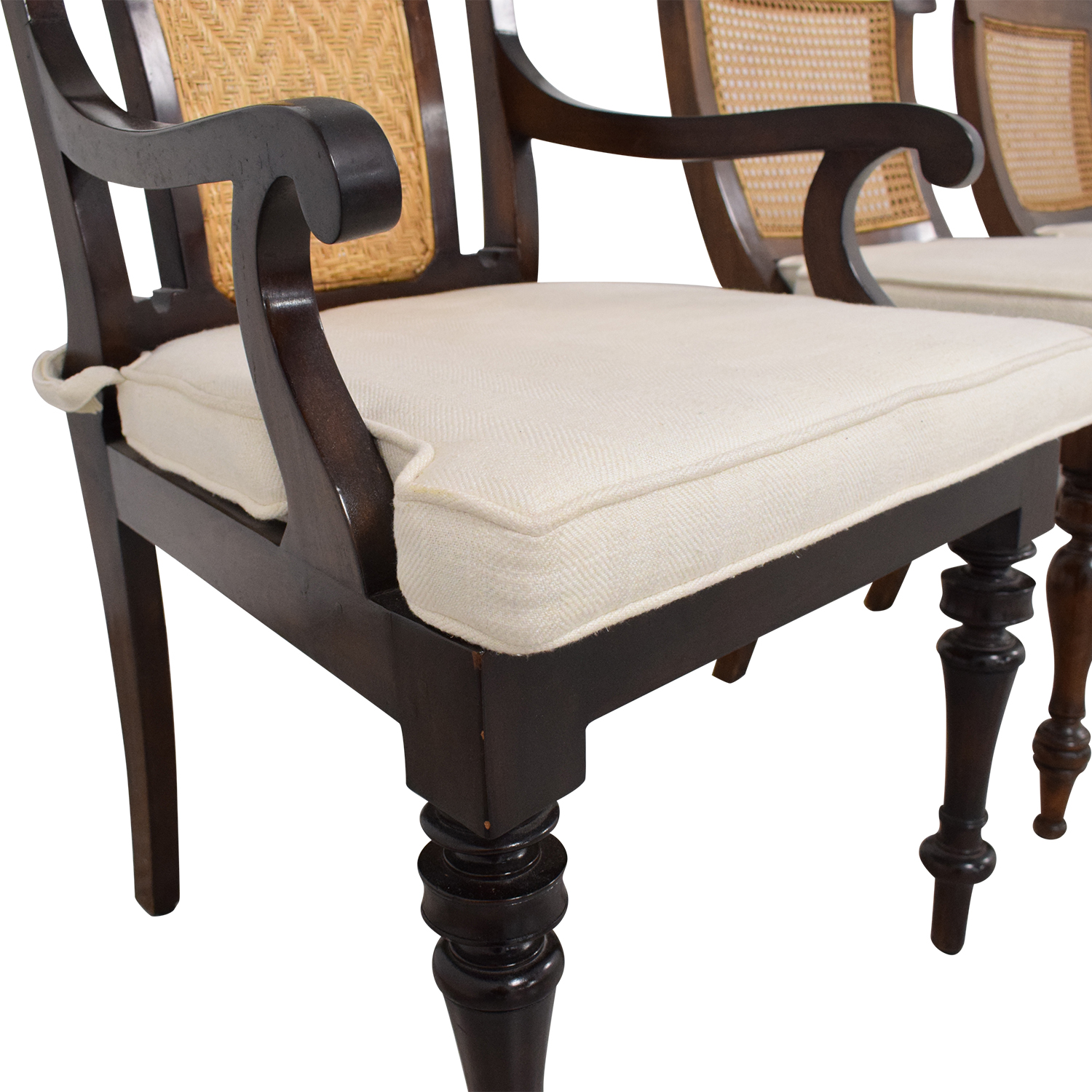 Colonial Dining Chairs brown