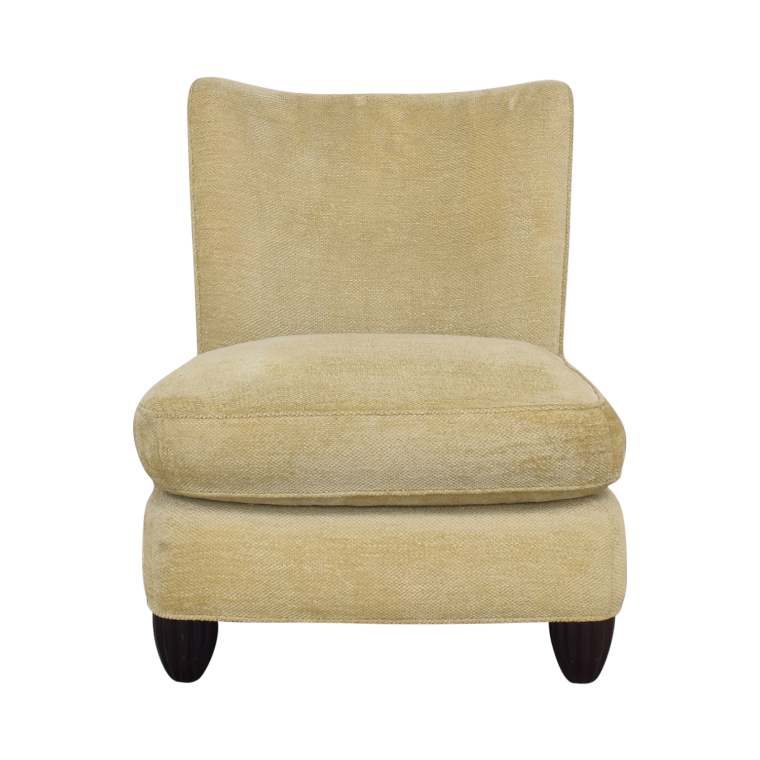 Baker Furniture Baker Furniture Barbara Barry Slipper Chair dimensions
