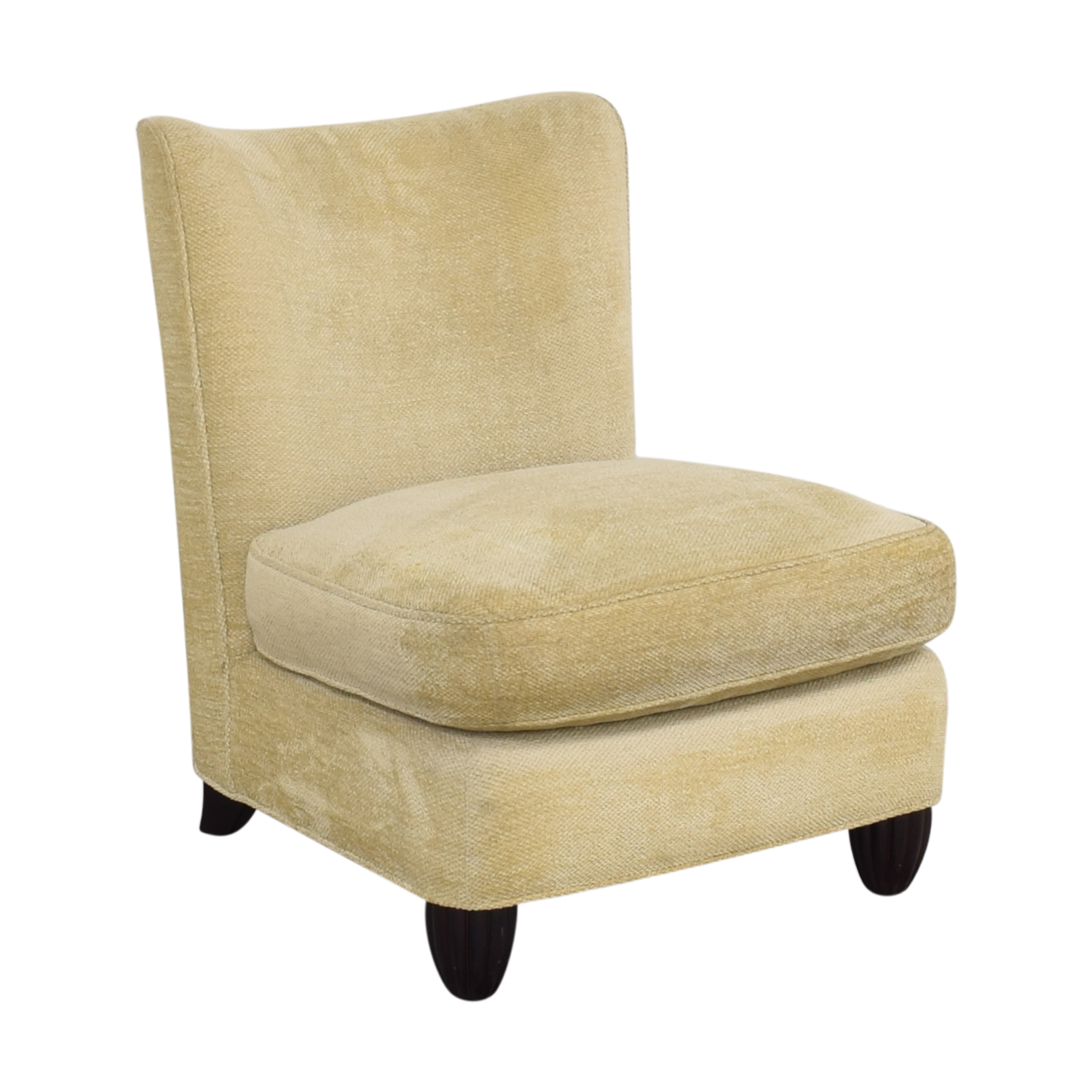 Baker Furniture Baker Furniture Barbara Barry Slipper Chair beige