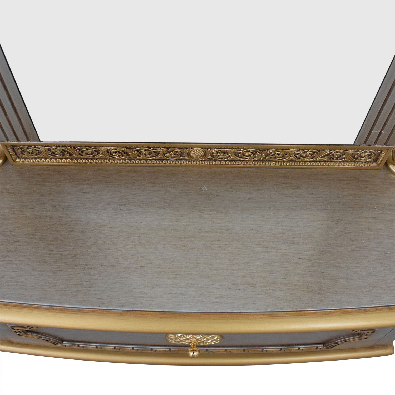 Versace-Style Mirror Storage Drawer / Decor