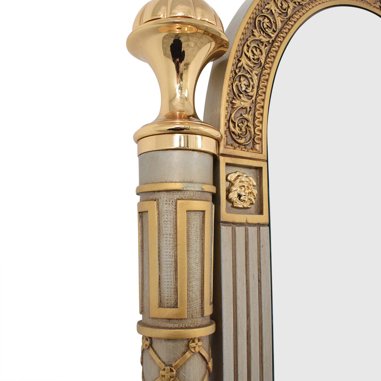 shop Versace-Style Mirror Storage Drawer