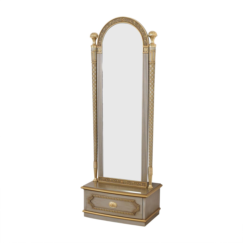 Versace-Style Mirror Storage Drawer on sale