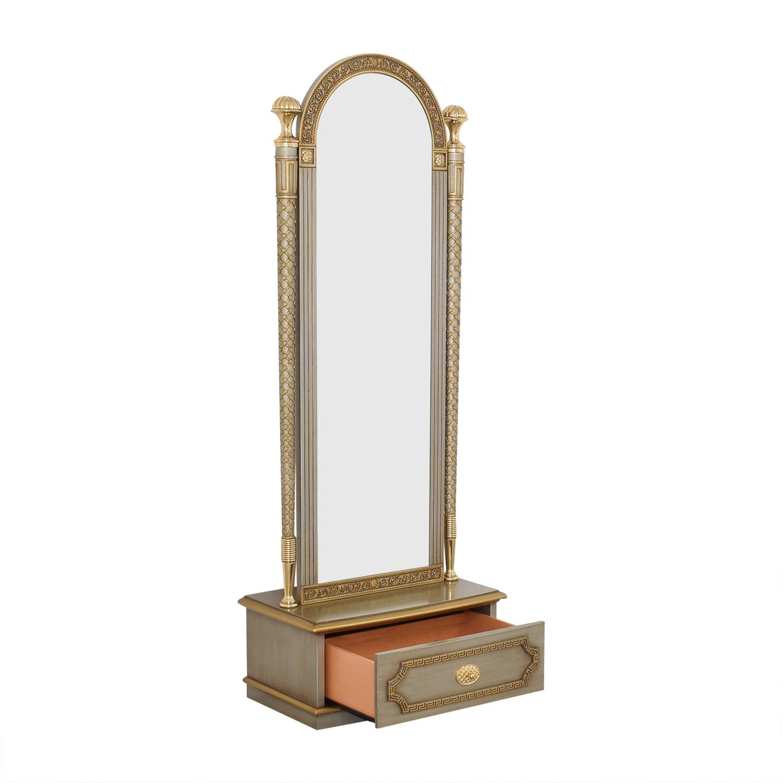 Versace-Style Mirror Storage Drawer second hand