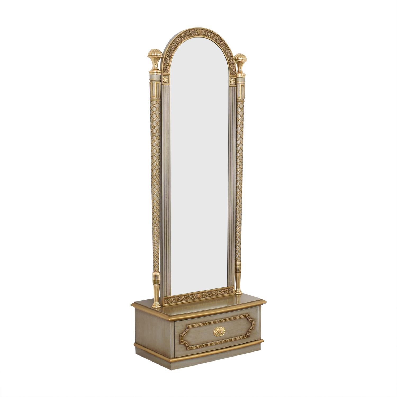 Versace-Style Mirror Storage Drawer dimensions