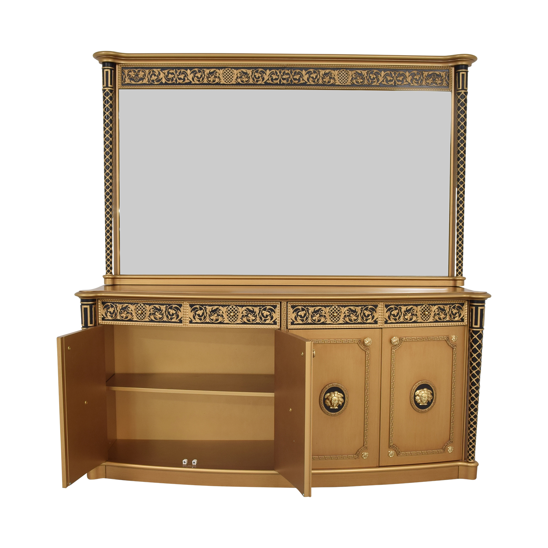 Versace Versace Console Dresser with Mirror price