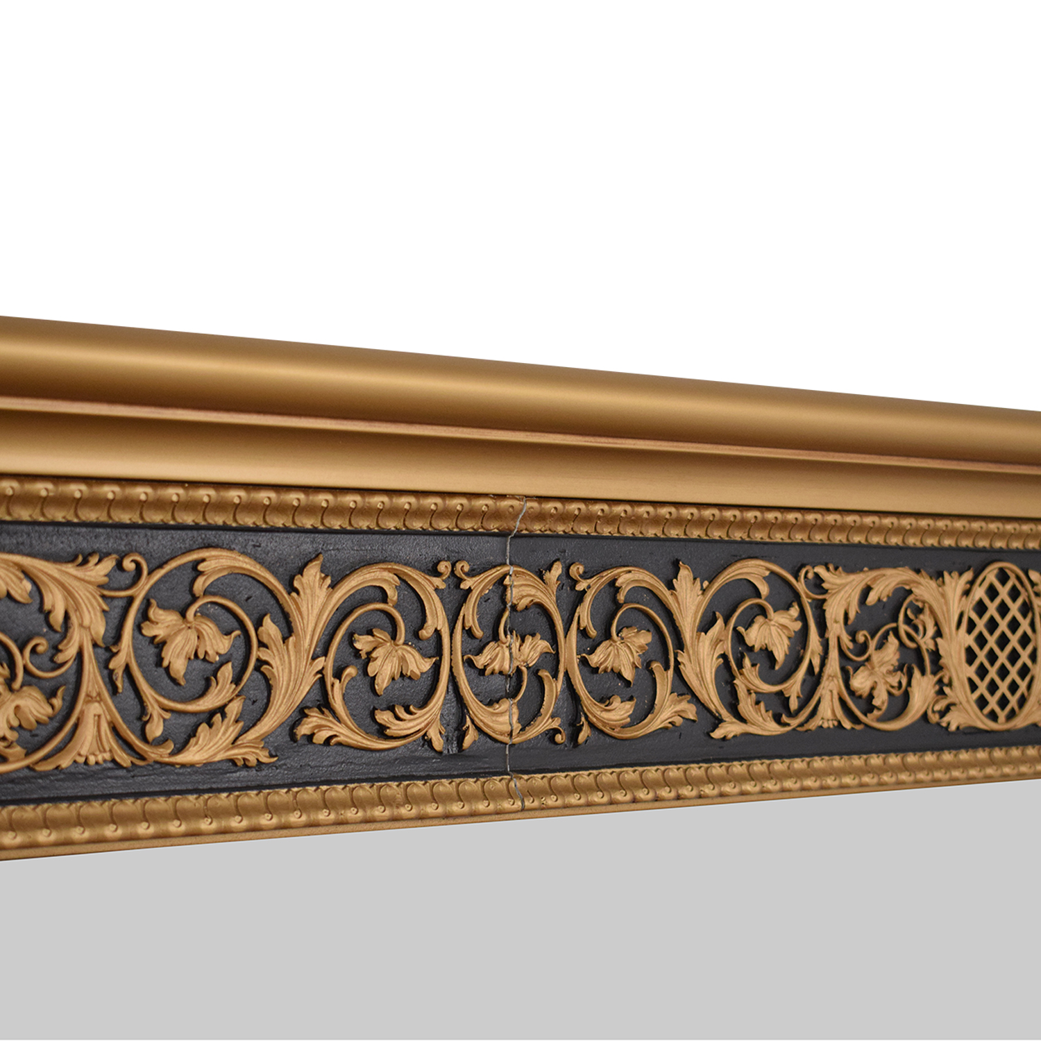 Versace-Style Console Dresser with Mirror second hand
