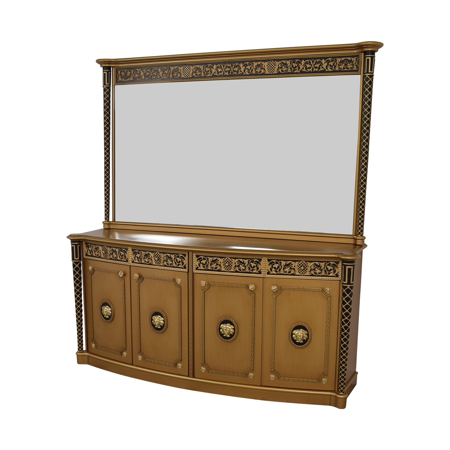 Versace Versace Console Dresser with Mirror nyc